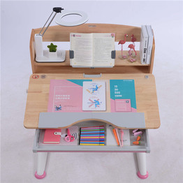 A90 Solid Wood Height Adjustable Kids Children Students Table