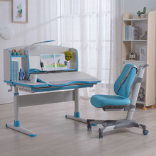 Blue Color Kids Study Table and Chair