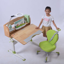 Green Color Desk and Chair Set Kids Children Furniture Set