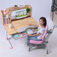 Height Adjustable Study Desk and Chair