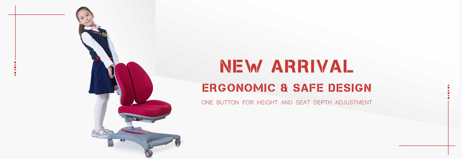 kid ergonomic study chair