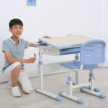 GMYD School Furniture Children Bedroom Furniture Set Kids Study Desk and Chair Sets