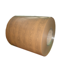 wooden & marble coated aluminium coil