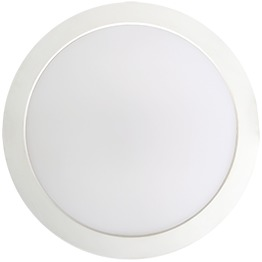 Built-in-Driver Plastic Slim Round Panel